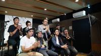 Danes Rabani saat peluncuran album barunya