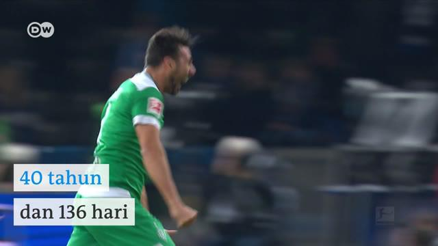 Claudio Pizarro Masih Cetak Gol di Usia 40 Tahun