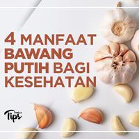 4 Manfaat Bawang Putih Bagi Kesehatan