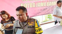 Kapolres Sukabumi Ajun Komisaris Besar Nasriadi. (Liputan6.com/Huyogo Simbolon)