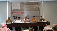 LSI merilis survei yang di antaranya tentang demokrasi di Indonesia. (Merdeka.com)