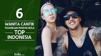 6 Wanita Cantik Pasangan Pesepak Bola Top Indonesia, Irfan Bachdim (bola.com/Rudi Riana)