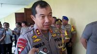 Kapolda Sulsel Irjen Pol Umar Septono perintahkan personil jajarannya tak berpesta pora di malam pergantian tahun (Liputan6.com/ Eka Hakim)