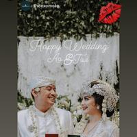 Tiwi Eks T2 gelar pernikahan dengan adat sunda dan telah resmi menjadi istri Arsyad Rahman. (Sumber: Instagram/@