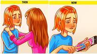 Ilustrasi perubahan perilaku (Sumber: Brightside)