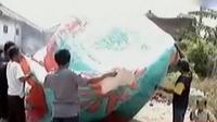 Tradisi unik menerbangkan balon terdapat di Garut