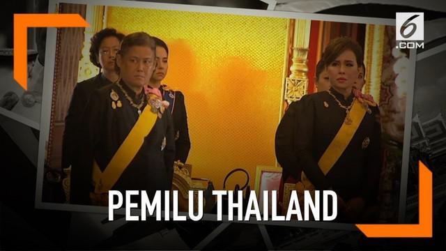 Raja Thailand Maha Vajiralongkorn mengutuk pencalonan kakaknya, Putri Ubolratana sebagai perdana menteri