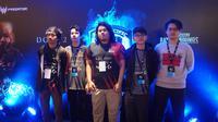 Tim Indonesia, BOOM ID, tampil di grand final DOTA 2 Asia Pacific Predator League 2019, di Nimibutr Stadium, Bangkok, Thailand, dari 15 sampai 17 Februari 2019. (Bola.com/Rizki Hidayat)