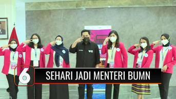 VIDEO: 6 Anak Muda ini Akan Merasakan Sehari Jadi Menteri dan Dirut BUMN, Seperti Apa?