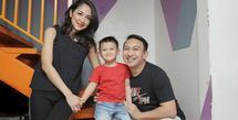 Augie Fantinus - Istri dan Anak