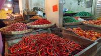 Ilustrasi pangan di pasar/Kementan.