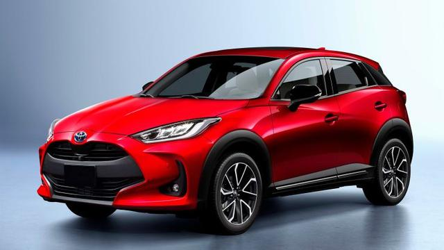 What Is A Crossover Suv >> Begini Penampakan Toyota Yaris Crossover Otomotif Liputan6 Com