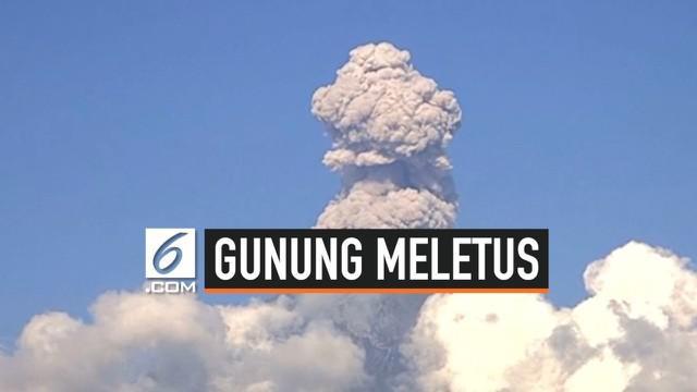 Gunung Popocatapetl di Mexico tiba-tiba meletus selama tiga hari berturut-turut.