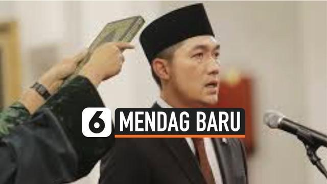 M. Lutfi, mantan Menteri Perdagangan era pemerintahan Susilo Bambang Yudhoyono kembali ditunjuk Jokowi untuk menempati bangku lamanya menggantikan Agus Suparmanto.