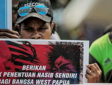 FRI-West Papua Geruduk Kedutaan Besar Amerika Serikat