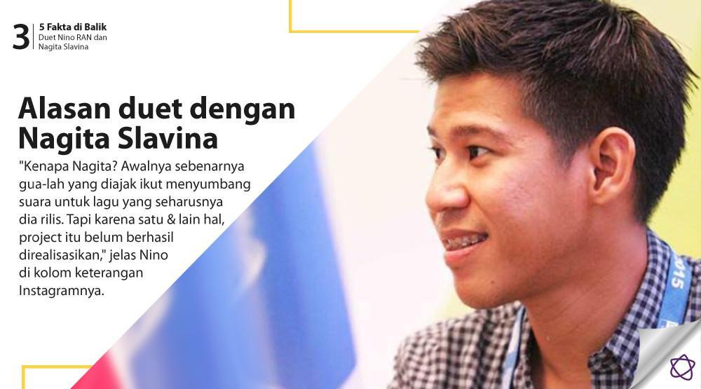 5 Fakta di Balik Duet Nino RAN dan Nagita Slavina. (Foto: Deki Prayoga/Bintang.com, Desain: Nurman Abdul Hakim/Bintang.com)