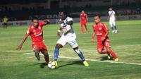 Persija meraih kemenangan 1-0 atas PSIS Semarang, Selasa (18/9/2018) di Stadion Sultan Agung, Bantul. (Bola.com/Ronald Seger)