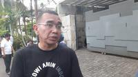 Calon wakil presiden nomor urut 01 Ma'ruf Amin melakukan rapat tertutup dengan Tim Kampanye Nasional (TKN) Jokowi-Ma'ruf, di kawasan Patra XII, Kuningan, Jakarta