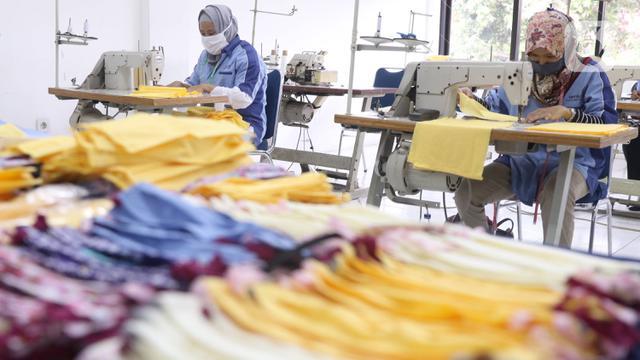 Pemkot Tangerang Produksi Masker Kain