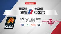 Phoenix Suns Vs Houston Rockets (Bola.com/Adreanus Titus)