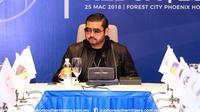 Tunku Ismail Sultan Ibrahim resmi mundur dari jabatan sebagai Presiden Asosiasi Sepak Bola Malaysia (FAM). (Bola.com/Dok. Johor Darul Ta'zim)