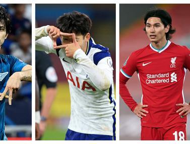 FOTO: 6 Pesepakbola Asia dengan Gol Terbanyak di Pentas Kompetisi antar-Klub Eropa, Son Heung-Min Teratas