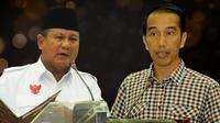 Prabowo dan Jokowi (Liputan6.com/Andri Wiranuari)