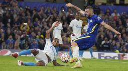 Chelsea yang tampil dominan sempat kesulitan membongkar pertahanan Zenit di babak pertama. (Foto:AP/Kirsty Wigglesworth)