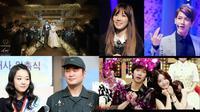 Beberapa kisah cinta artis K-Pop yang menghebohkan 2014 membuat publik terjut dengan kabar tersebut.