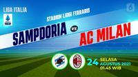 sampdoria vs AC milan (Liputan6.com/Niman)