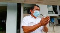 Sekda Riau Yan Prana Indra Jaya saat berstatus menjadi saksi dalam kasus korupsi yang ditangani Kejati Riau. (Liputan6.com/M Syukur)