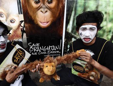 Kampanye Penyelamatan Orangutan Indonesia