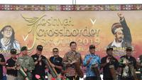 Festival Crossborder Skouw 2019 resmi dibuka, Kamis (9/5), di Lapangan PLBN Terpadu Skouw, Jayapura, Papua