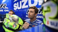 Pebalap Suzuki Ecstar, Andrea Iannone, menyayangkan hasil buruk yang diraihnya di paruh musim MotoGP 2017. (GP One)