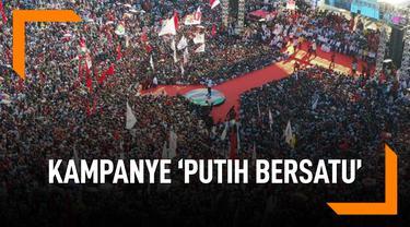 Fakta Kampanye 'Putih Bersatu' Jokowi-Ma'ruf di GBK