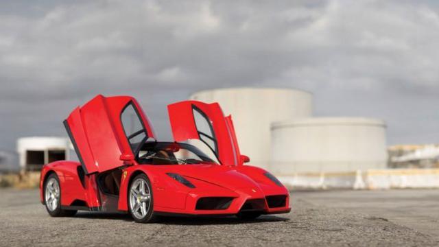 Edisi Penutup Ferrari Enzo Jadi yang Termahal