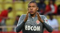 Kylian Mbappe pemain Prancis yang lahir di Bondy 20 Desember 1998. (AFP/Boris Horvat)