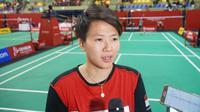 Liliyana Natsir berbagi tips orang tua yang mendukung karier anaknya menjadi atlet bulutangkis. (Liputan6.com/Huyogo Simbolon)