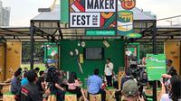MAKER FEST 2018 telah mencapai puncaknya pada 15 - 16 Desember 2018. Seperti apa kemeriahannya? (foto: dok. Tokopedia)