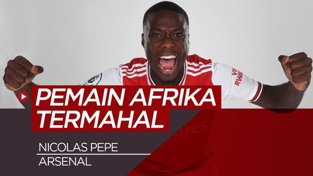 Berita video 5 pemain termahal dunia asal Afrika.