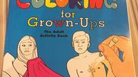 Tak seperti biasanya, buku mewarnai ini dikhususkan untuk para orang dewasa