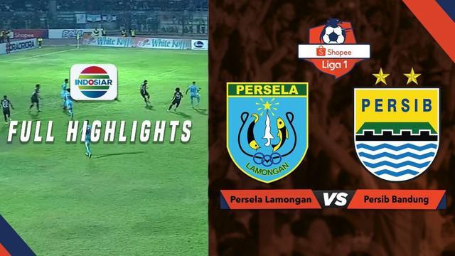Berita video highlight Shopee Liga 1 2019 antara Persela Lamongan melawan Persib Bandung yang berakhir dengan skor 2-2, Kamis (8/8/2019).