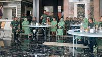 Kepala Staf Angkatan Darat (Kasad) Jenderal TNI Andika Perkasa. (Liputan6.com/Yopi Makdori)