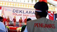 Pemerintah Kota Bengkulu mendukung penuh pelaksanaan Pilkada tahun 2020 dengan memberikan pelayanan Rapid Tes petugas Pemilu. (Liputan6.com/Yuliardi Hardjo)
