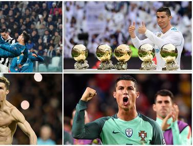 Prestasi Cristiano Ronaldo yang Belum Pernah Diraih Lionel Messi