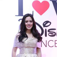 Raisa di acara We Love Disney (Galih W Satria/Bintang.com)