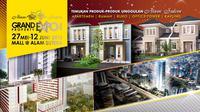 Alam Sutera Grand Property Expo 2016 menawarkan beragam properti dari Alam Sutera Group.