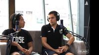 Pemain PSS Sleman, Guilherme Felipe de Castro Batata. (Istimewa/Podcast PSS Sleman)