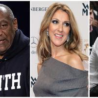 Bill Cosby, Celine Dion, Jay Z (Bintang/EPA)