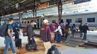 Ilustrasi - Suasana di stasiun Purwokerto. (Foto: Liputan6.com/Daop 5 PWT/Muhamad Ridlo)